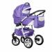 Цены на Caretto (Польша) Коляска ADRIANO 2в1 (Caretto),   Ad 05 (фиолет. + бел.кожа) Среди модульных колясок эконом - сегмента ADRIANO выделяется исключительностью исполнения и высокой функциональностью. Кроме того,   классически - сдержанным дизайном. Спальный блок о