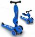 Цены на Scoot&Ride Детский трехколесный самокат с сиденьем Scoot&Ride HighwayKick 1 (Синий / 78044/ ) В данном инновационном продукте слились многие преимущества: стильный и современный европейский дизайн,   функциональность,   качественные материалы,   безопасность. Hig