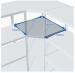 Цены на ПРОМЕТ (Россия) Угловая секция MS Standart 200/ 60x40 (4 полки) Высота секции — 2000 мм Ширина секции — 600 мм Для стеллажа глубиной 400 мм Нагрузка на секцию — 500 кг Вы можете выбрать любое количество полок