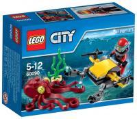 Фото LEGO City 60090 Глубоководный скутер