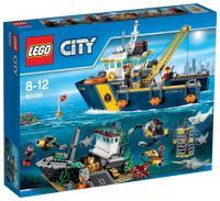 Фото LEGO City 60095 Корабль исследователей морских глубин