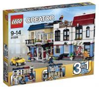 Фото LEGO Creator 31026 Веломагазин и кафе