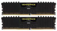 Corsair 16GB (2x8GB) DDR4 2400 MHz Vengeance LPX Black (CMK16GX4M2A2400C16)
