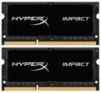 Kingston 8GB (2x4GB) SO-DIMM DDR3L 1600MHz HyperX IMPACT (HX316LS9IBK2/8)