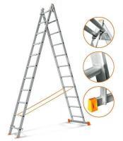 Эйфель Двухсекционная лестница Гранит 2х11