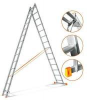 Эйфель Двухсекционная лестница Гранит 2х14