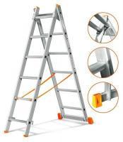 Эйфель Двухсекционная лестница Гранит 2х6