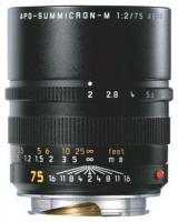 Leica Summicron-M 75mm f/2 APO Aspherical