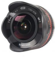Samyang 7.5mm f/3.5 UMC Fish-eye Micro 4/3