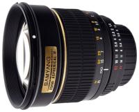 Samyang 85mm f/1.4 AS IF Canon EF
