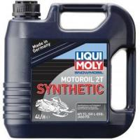 Liqui Moly Snowmobil Motoroil 2T Synthetic 4� (2246)