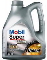 MOBIL Super 3000 Diesel 5W-40 4л