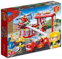 BanBao Пожарные 7102 Пожарная станция