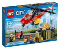 LEGO City Fire 60108 Пожарная команда быстрого реагирования