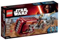 LEGO Star Wars 75099 Конструктор Спидер Рея