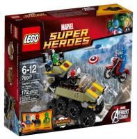 LEGO Super Heroes 76017 Капитан Америка против Гидры
