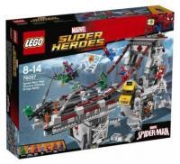 LEGO Super Heroes 76057 Человек-паук Паутинные войны Сражение на мосту