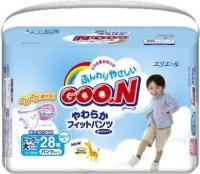 Goo.N Подгузники-трусики для мальчиков XXL 13-25 кг (28 шт.)