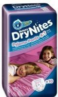 Huggies DryNites для девочек 4-7 лет 17-30 кг (10 шт.)