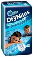 Huggies DryNites для мальчиков 4-7 лет 17-30 кг (10 шт.)