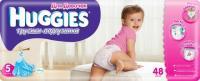 Huggies Трусики для девочек 5 (48 шт.)
