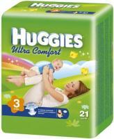 Huggies Ultra Comfort 3 (21 шт.)