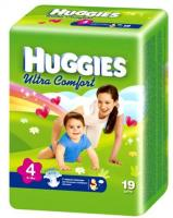 Huggies Ultra Comfort 4 (19 шт.)
