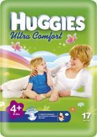 Huggies Ultra Comfort 4+ (17 шт.)