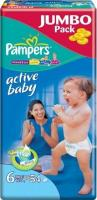 Pampers Active Baby Extra Large 6 (54 ��.)