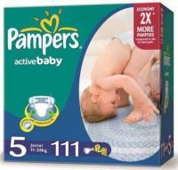 Pampers Active Baby Junior 5 (111 ��.)