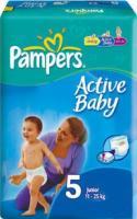 Pampers Active Baby Junior 5 (82 ��.)