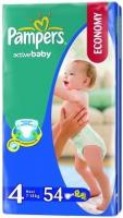 Pampers Active Baby Maxi 4 (54 шт.)