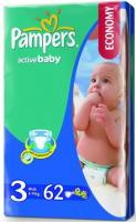 Pampers Active Baby Midi 3 (62 ��.)