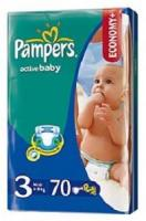 Pampers Active Baby Midi 3 (70 ��.)