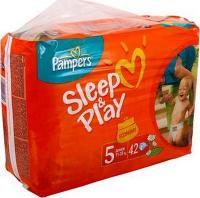 Pampers Sleep&Play Junior 5 (42 шт.)