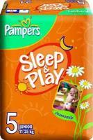 Pampers Sleep&Play Junior 5 (74 шт.)