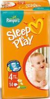 Pampers Sleep&Play Maxi 4 (14 шт.)