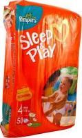 Pampers Sleep&Play Maxi 4 (50 шт.)