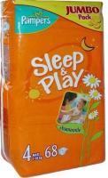 Pampers Sleep&Play Maxi 4 (68 шт.)