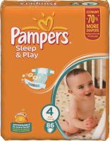 Pampers Sleep&Play Maxi 4 (86 ��.)