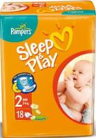 Pampers Sleep&Play Mini 2 (18 шт.)