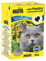 Bozita Feline кусочки в желе с домашней птицей 190 г