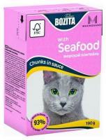 Bozita Feline кусочки в соусе морской коктейль 190 г