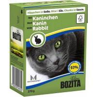 Bozita Feline кусочки в соусе с кроликом 370 г