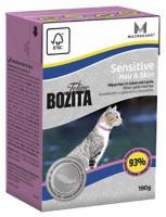 Bozita Feline Sensitive Hair & Skin 190 г