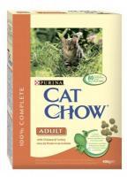 Cat Chow Adult с курицей и индейкой 15 кг
