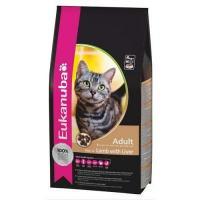 Eukanuba Cat Adult с ягненком и печенью 2 кг