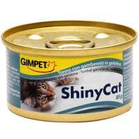 Gimpet ShinyCat тунец с креветками 70 г