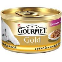 Gourmet Gold с уткой, морковью и шпинатом по-французски 0,085 кг