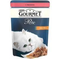 Gourmet Perle мини-филе с лососем 0,085 кг
